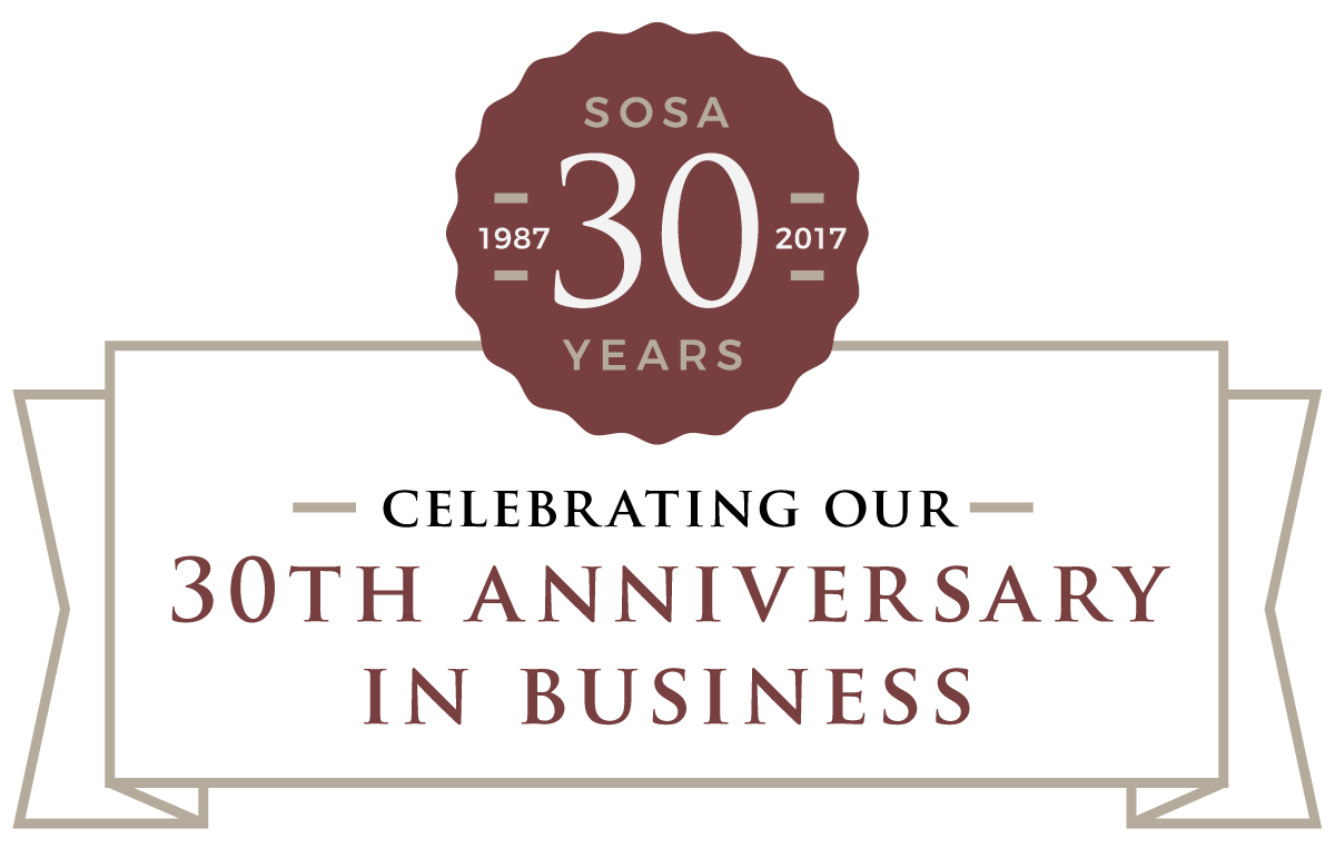 CELEBRATING OUR 30TH ANNIVERSARY IN BUSINESS